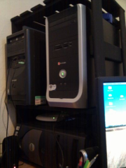 Picture of DIY desktop stack